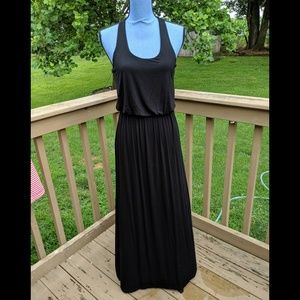 Lush maxi dress black size medium